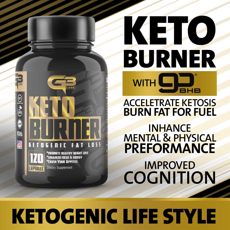 Keto Burner Pills, Exogenous Ketones W/ 2g Go Bhb Keto Supplement & Garcinia Cambogia Blend for Men & Women. Ketone Supplement for Focus, Energy, Ketosis by GLADIATOR GYM GEAR (Image #8)