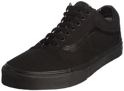 Vans Old Skool Men Canvas Black Fashion Sneakers