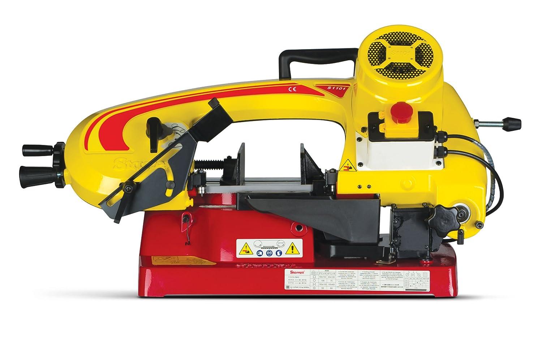 Starrett ST-1101 Máquina de sierra de cinta gravitacional 370W, Amarillo