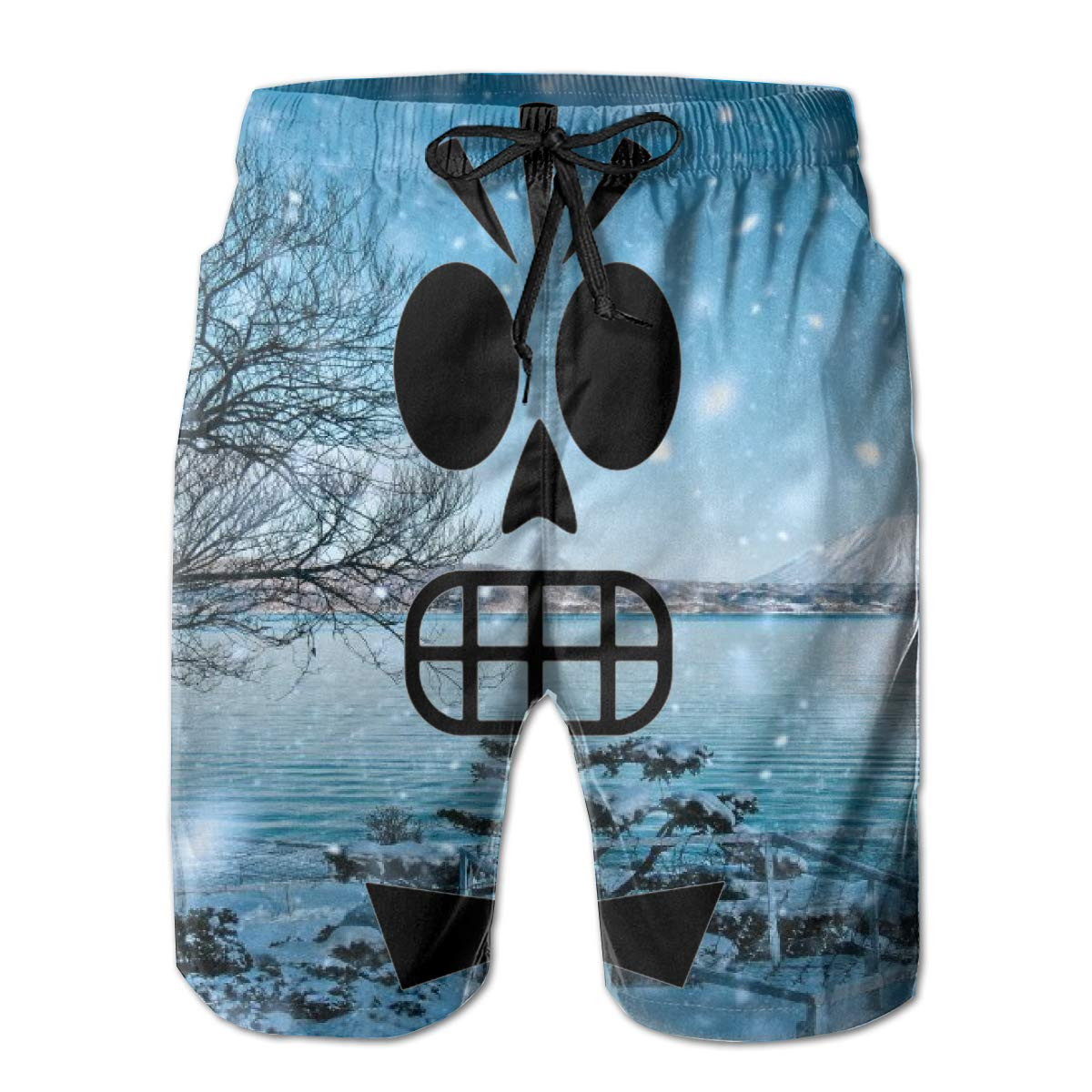 You Know And Good Manny Calavera Mens Swim Trunks Bathing Suit Beach Shorts