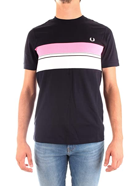 Fred Perry Striped Chest Panel T-shirt, Camiseta - S: Amazon.es ...