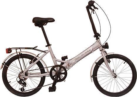 Bicicleta plegable aluminio Rocasanto HOP-ON AL, tamaño ruedas 20 ...