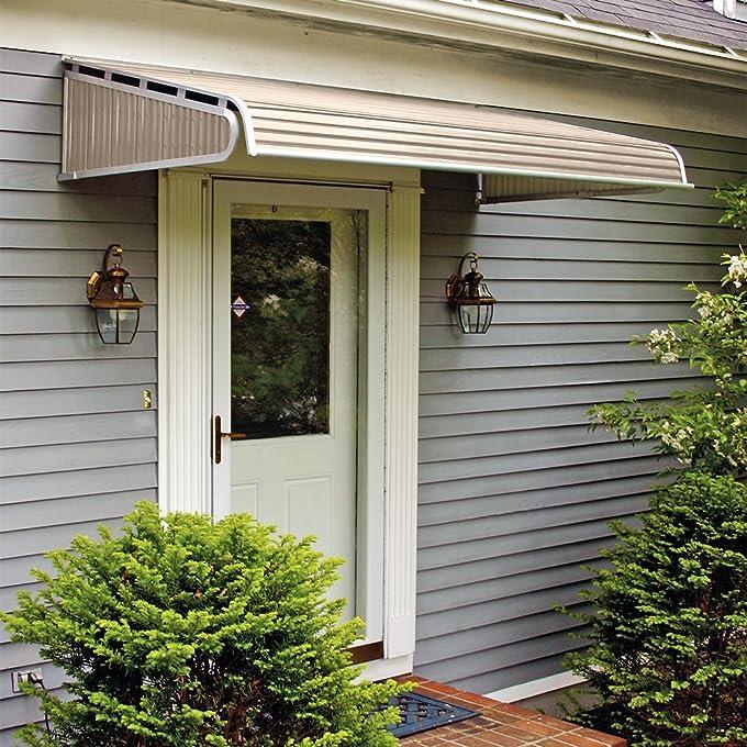 Amazon 1500 Series Aluminum Door Canopy With Sidewings Garden Outdoor