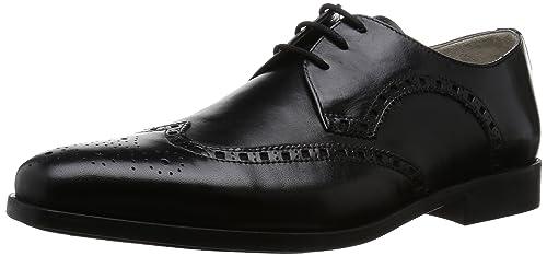 Clarks Amieson Limit, Men's Brogue, Black (Black Leather), ...