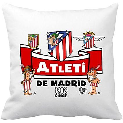 Cojín con relleno Atlético de Madrid desde 1903 colchonero ...