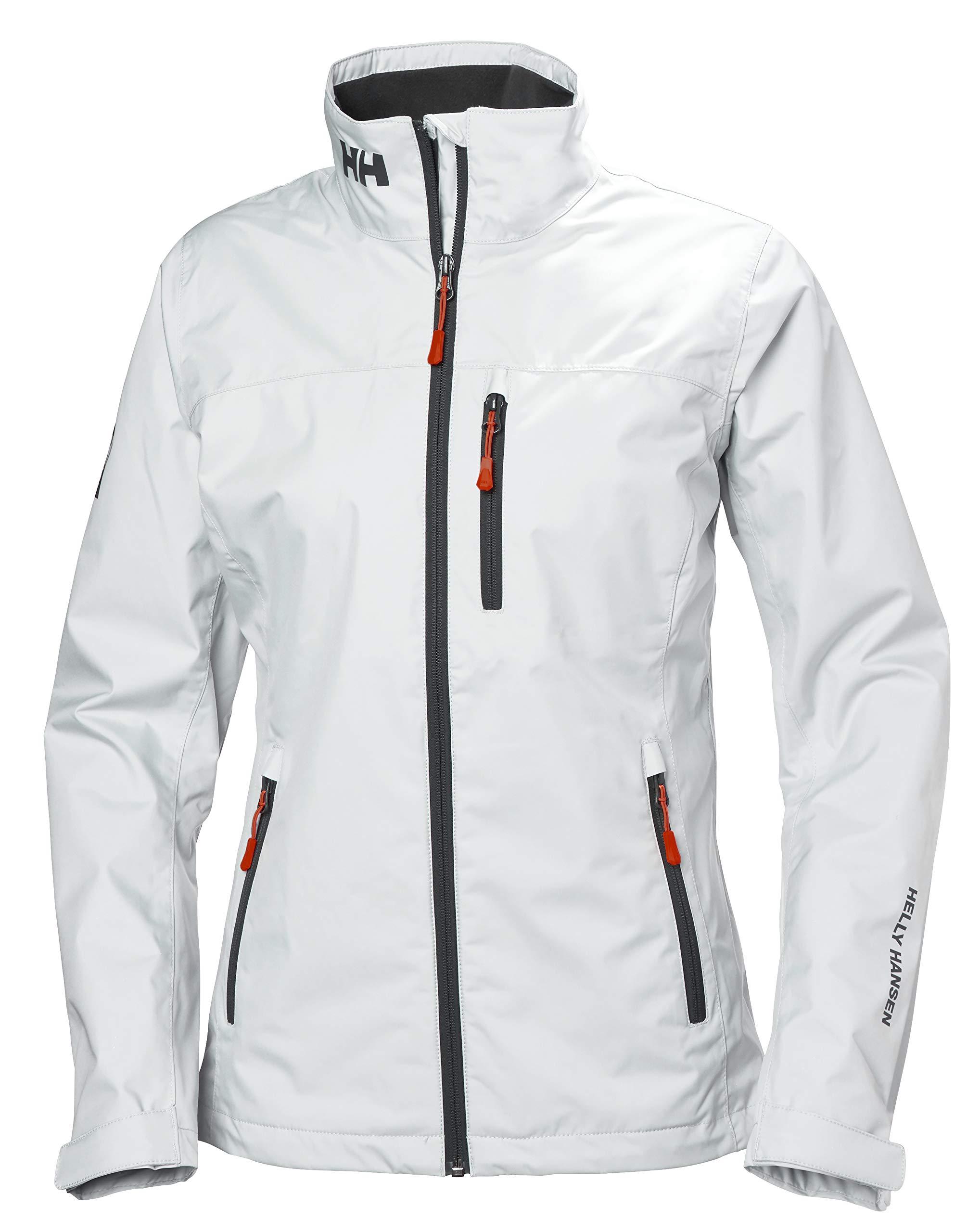 Helly-Hansen Women's Crew Midlayer Fleece Lined Waterproof Windproof Breathable Rain Coat Jacket