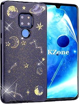 OKZone Funda Huawei Mate 20 [Serie Noche Estrellada] Cárcasa Glitter Brillante TPU Silicona Parachoque Teléfono Smartphone Funda Móvil Case para Huawei Mate 20: Amazon.es: Electrónica