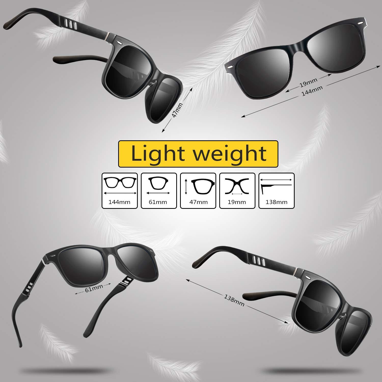 a80e623f29b33 Amazon.com  Sunglasses for Men and Women – Feirdio Retro Designer Openwork  Metal Frame Men Sunglasses 575 (black black)  Clothing