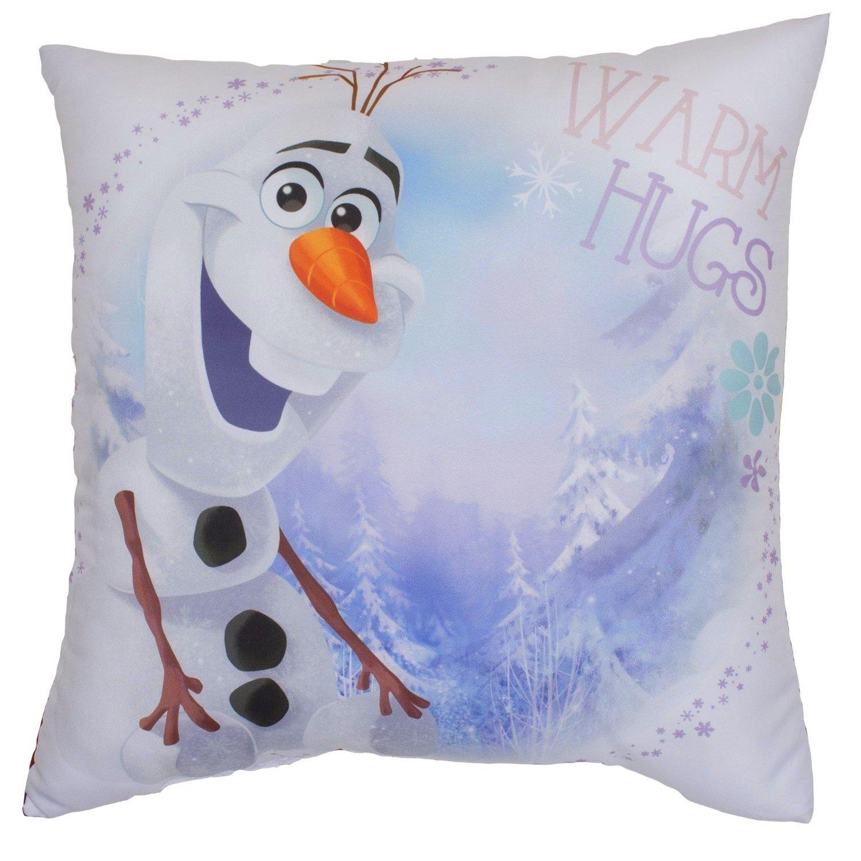Offizielles Disney Frozen Kinder Wende Kissen, Olaf Warm Hugs (38 x 38 cm) (Bunt) UTMS396_1
