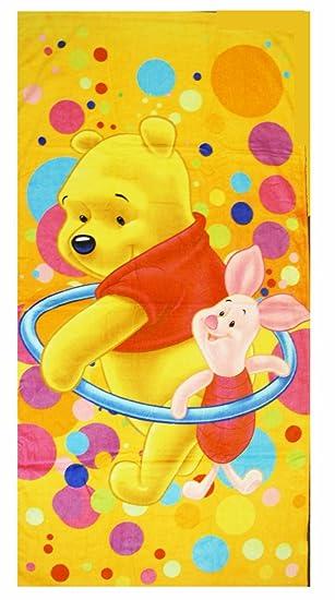 Disney Winnie The Pooh Towel - Pooh n Piglet Beach / Bath Towel ...