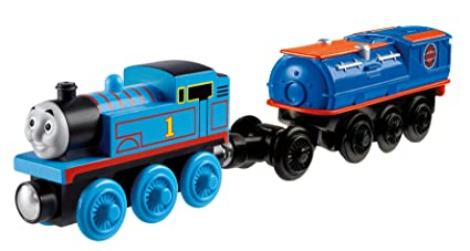 Fisher-Price Thomas /& Friends Wooden Railway Battery Operated Talking Gordon