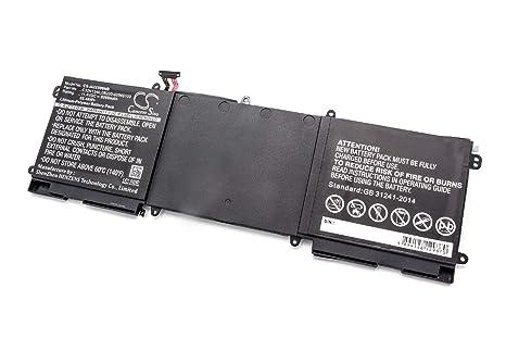 vhbw Litio polímero batería 8200mAh (11.4V) Negro para Ordenador portátil Laptop Notebook ASUS