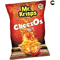 Mr Krisps Cheezos Spicy Flaming Hot 80 gm
