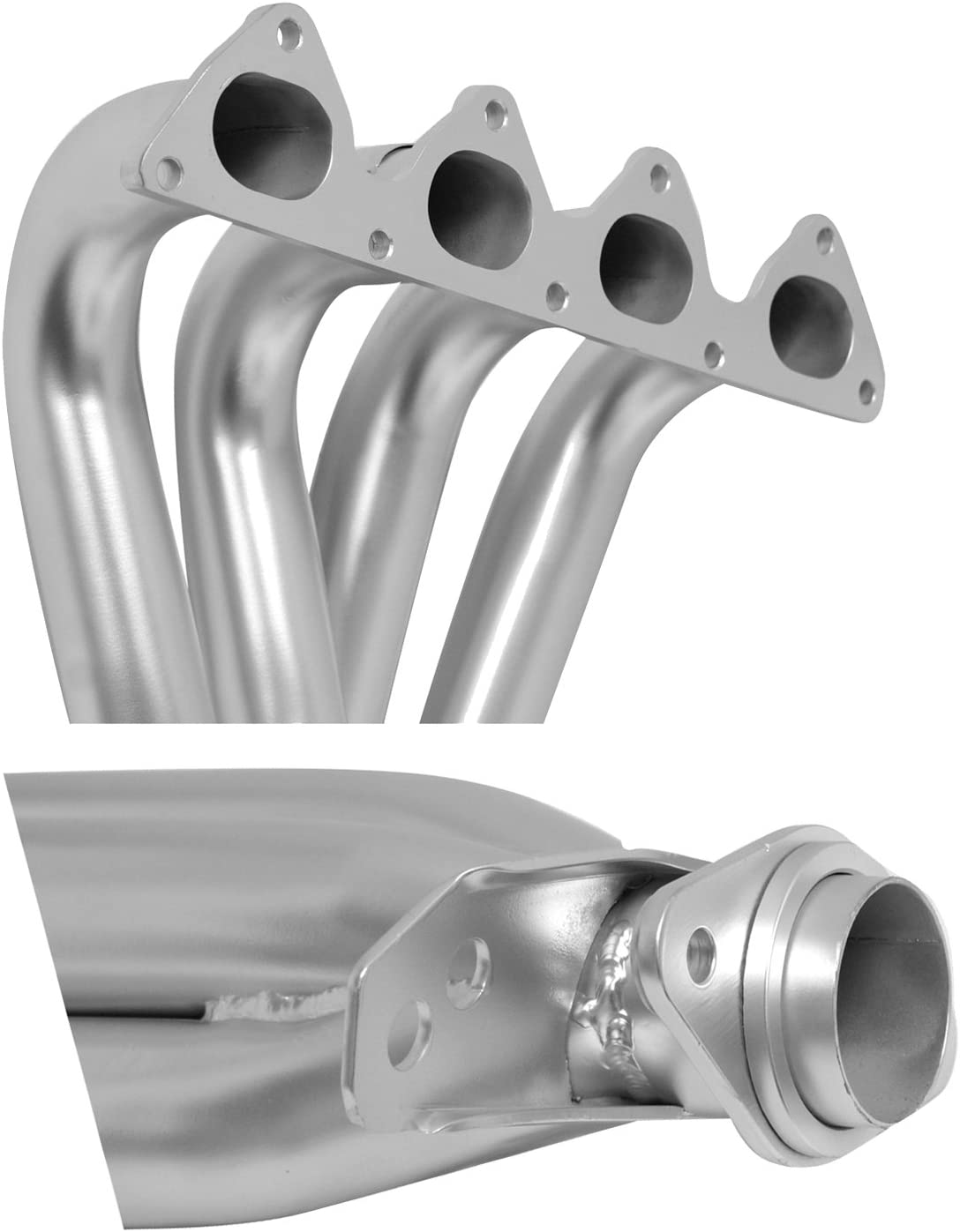 Silver DC Sports AHC6607 4-1 Header with Ceramic Coating
