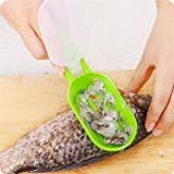 Fish Tools Fast Cleaning Fish Skin Steel Fish Scales Brush Shaver Remover Cleaner Descaler Skinner Scaler Fishing Tools