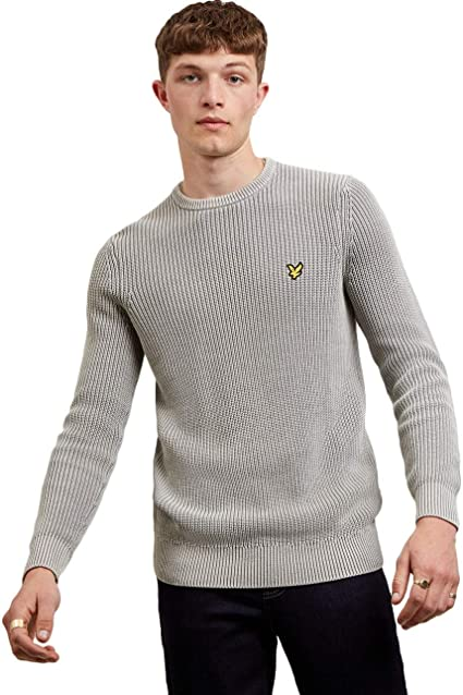 LYLE AND SCOTT MEN/'S FITTED QUARTER ZIP JUMPER //SWEATER