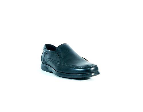 Callaghan- Mocasin negro hombre- talla 40: Amazon.es: Zapatos y complementos