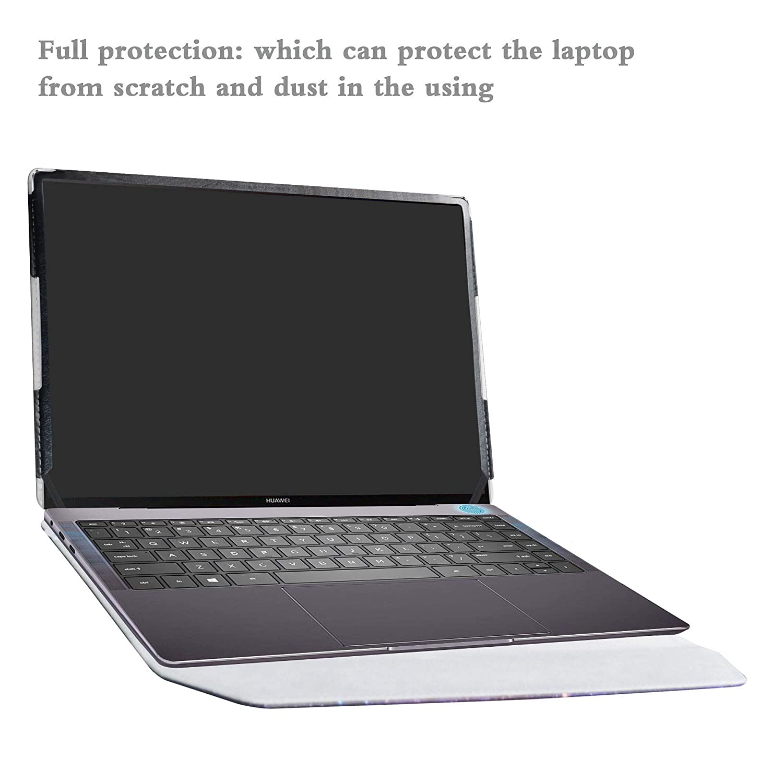 Alapmk Diseñado Especialmente La Funda Protectora de Cuero de PU para 13.9
