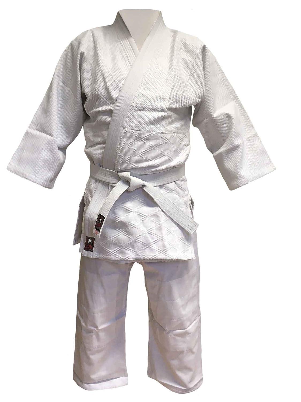 Budodrake Aikido Anzug Keiko-Gi AIKI Deluxe mit Elastikbund