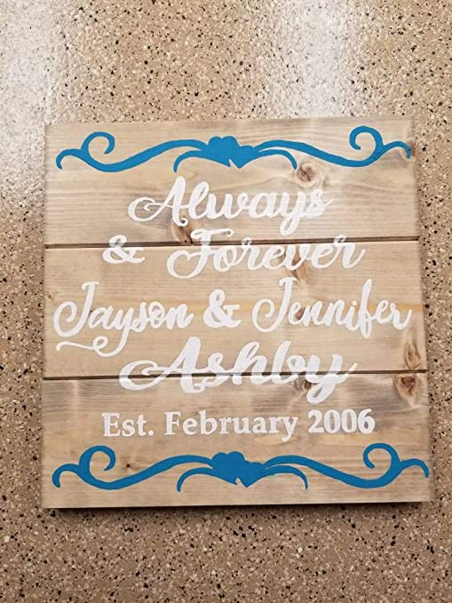 Letitia48Maud Always and Forever - Cartel de Madera ...