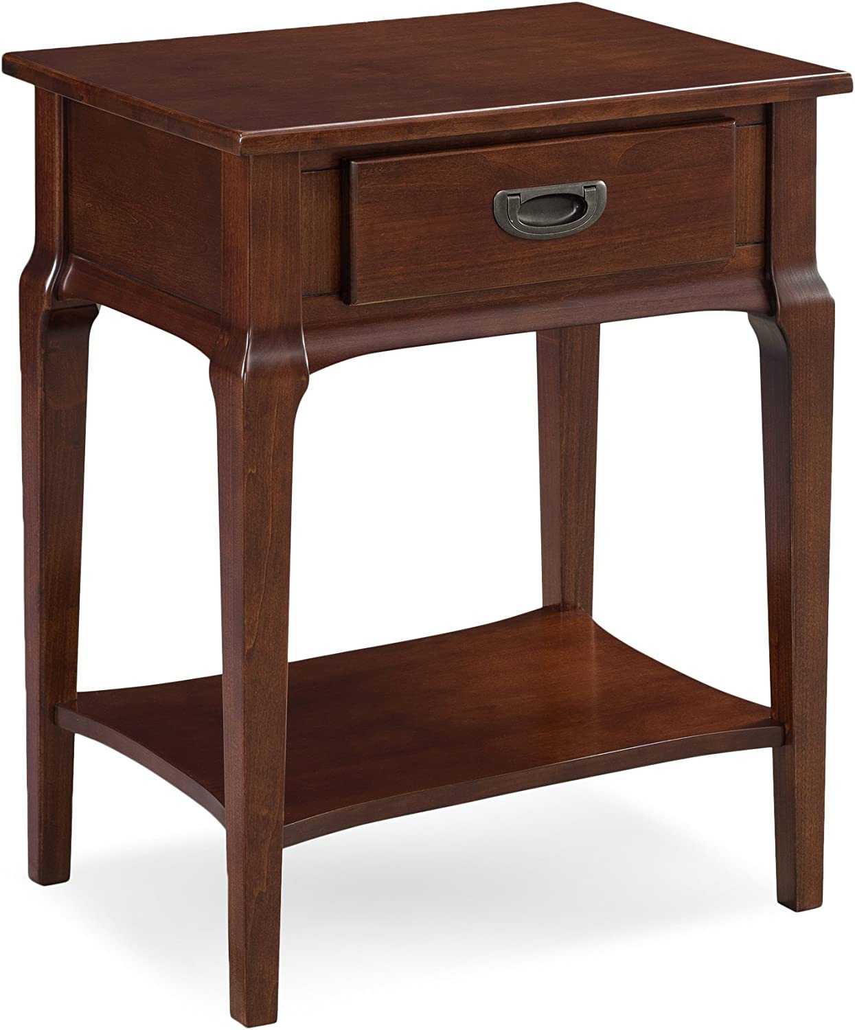 Leick Contemporary Stratus Night Stand with Drawer