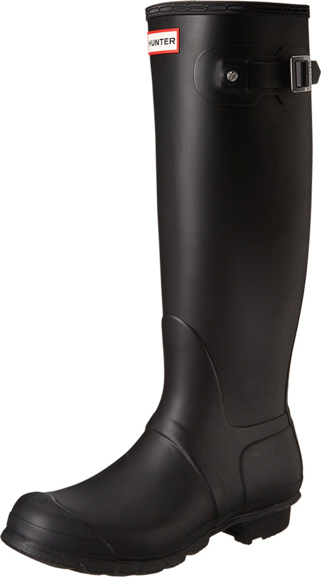 Hunter Women's Original Tall Black Rain Boots - 9 B(M) US by Hunter