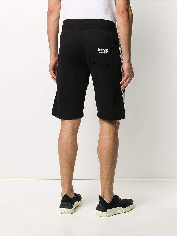 Moschino Pantalones Cortos con Logotipo Bianco L: Amazon.es: Ropa ...