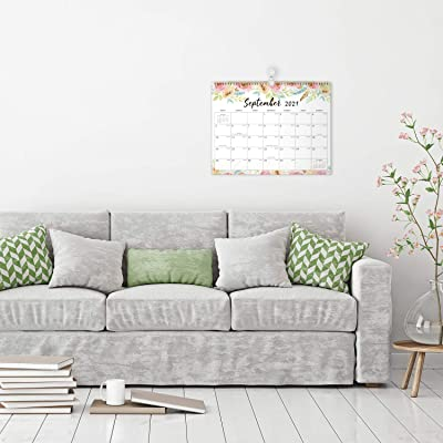 Large Wall Calendar 2022.Buy 2021 2022 Wall Calendar 18 Months Large Monthly Wall Calendar July 2021 Dec 2022 14 6 X 11 4 Large Ruled Blocks To Do List Notes Best Wall Calendar For Organizing Online In Indonesia B08d3rgykn