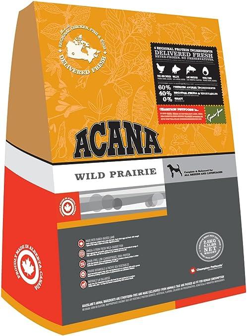 acana regional wild prairie grain free dry dog food