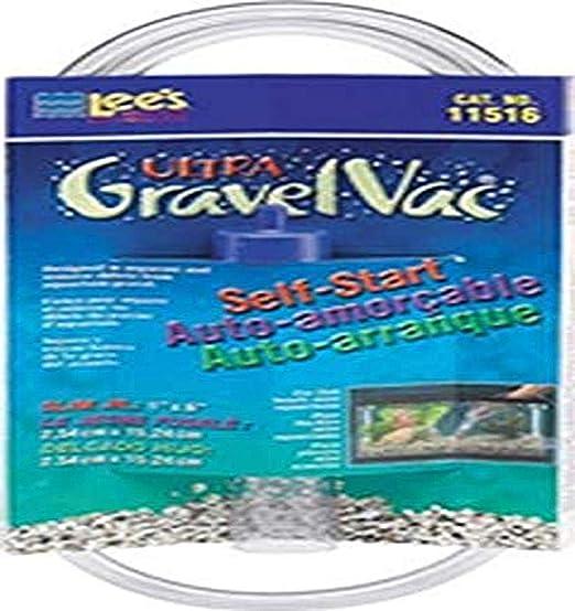 Lees Slim Jr. Ultra Gravel Aspirador de 6 pulgadas: Amazon.es: Productos para mascotas