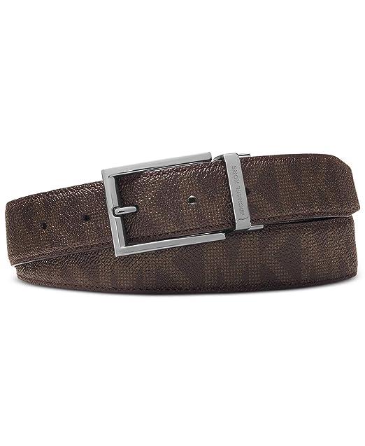 937bad371d Michael Kors Cintura - Uomo Brown 85: Amazon.it: Abbigliamento