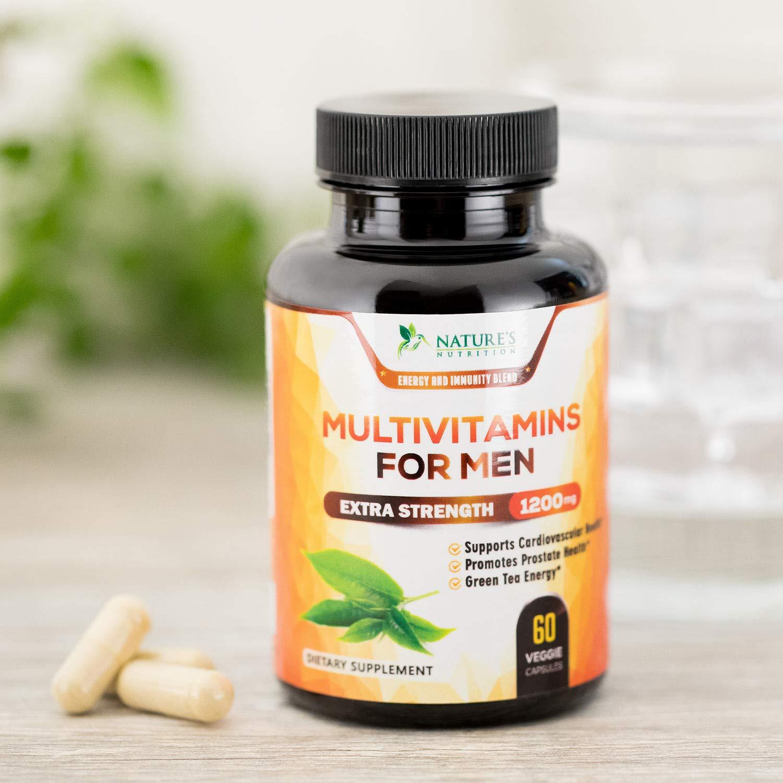 Amazon.com: Multivitamina diaria para hombres – con ...