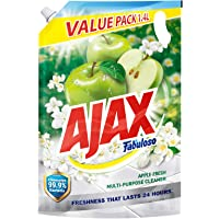 Ajax Fabuloso Multi-purpose Cleaner Refill, Apple Fresh, 1.4L