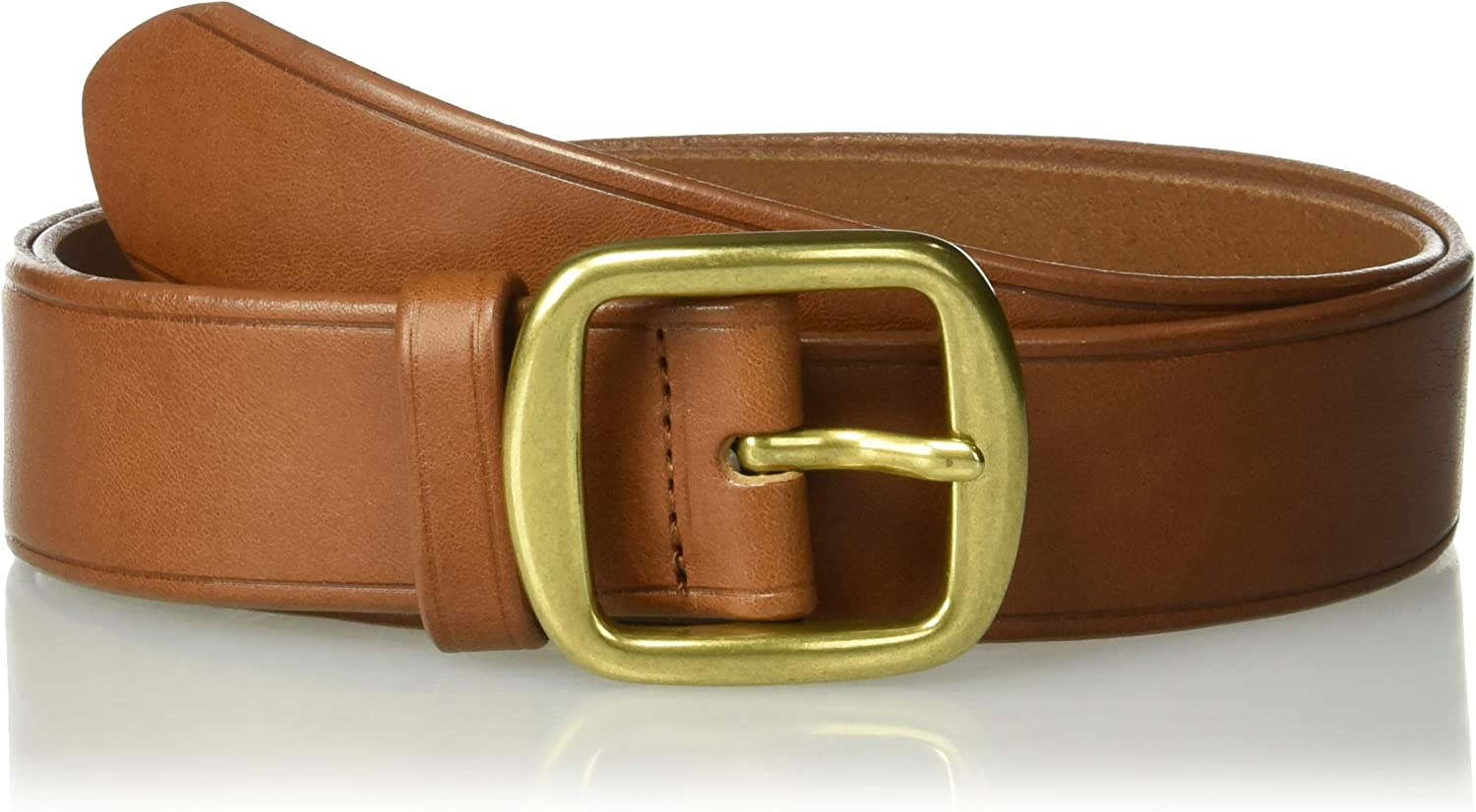 Circa Leathergoods womens Circa Womens Fully Adjustable Leather Belt With Oval Ring Belt