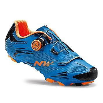 Zapatillas Northwave Scorpius 2 Plus Azul-Naranja 2016