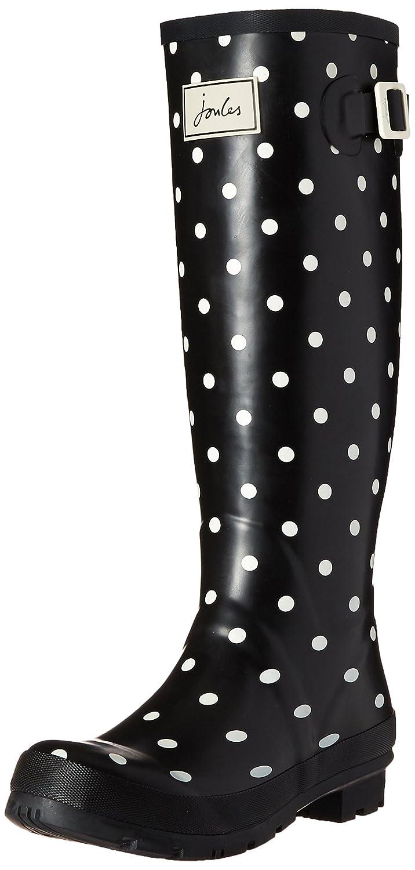 Joules Women's Welly Print Rain Boot B01F00CR5A 6 B(M) US|Cream Spot White