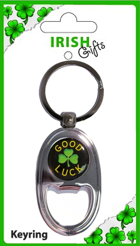 雑誌で紹介された Irish Traditional Bottle Gift Opener Oblong Keyring Good Luck Luck Keyring Shamrock Disk Souvenir Gift B00831URBU, 大成町:f5e60964 --- yelica.com