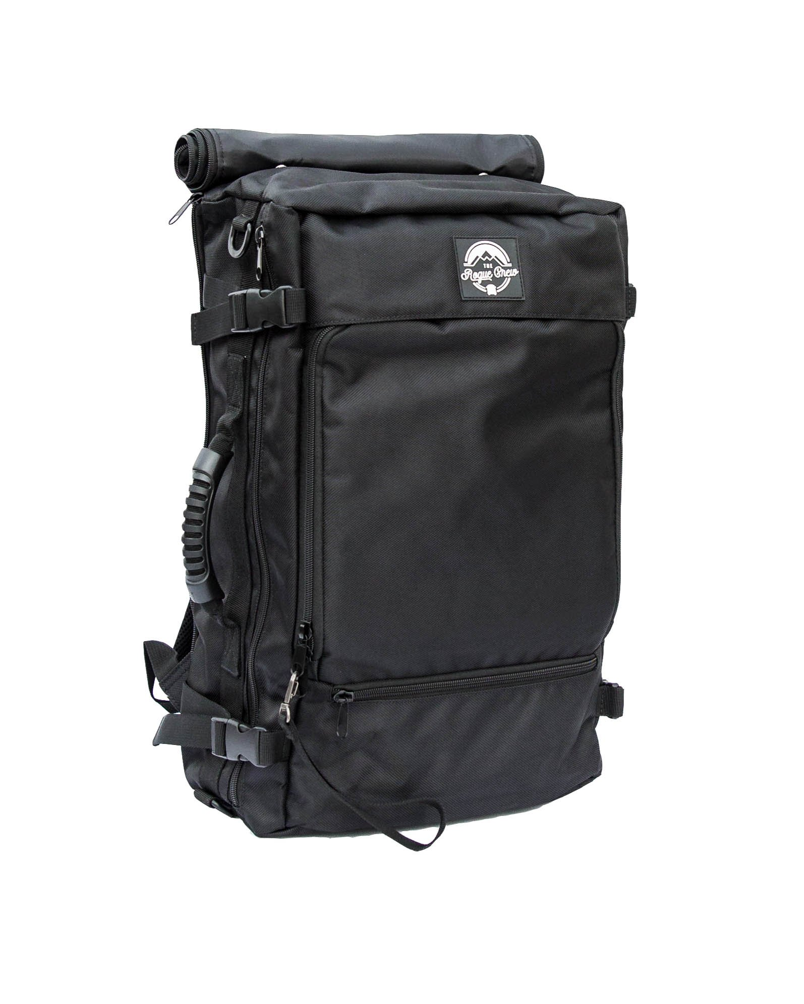 Rogue Crew Extra-Large DSLR Camera Backpack with 15-inch Laptop Holder, 31.35 Liter, Black