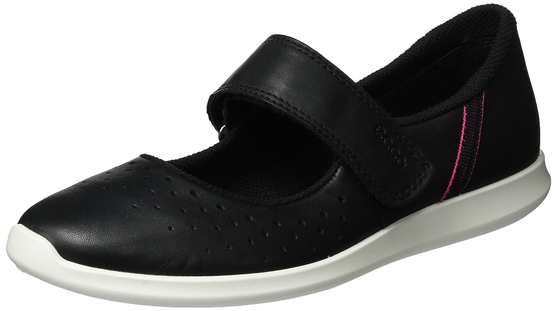 ECCO Women's Women's Sense Mary Jane Fashion Sneaker B01I6F3R14 39 EU/8-8.5 M US|Black/Black White