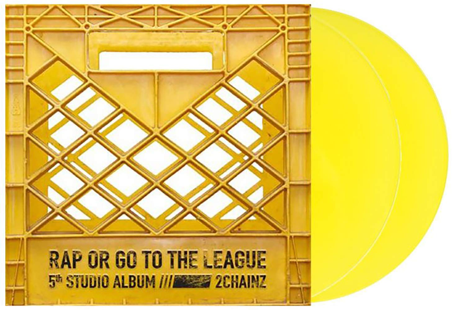 Rap Or Go To The League - Exclusive Limited Edition Yellow 2xLP Vinyl (#/2000) [Condition-VG+NM] by Def Jam