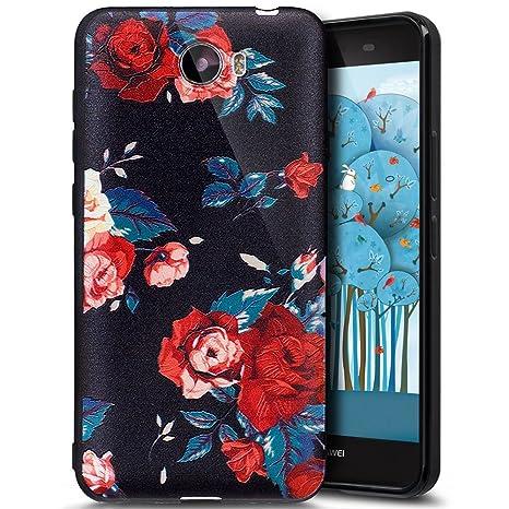 Huawei Y5 II móvil, Huawei Y5 2 Carcasa, ukayfe IMD Diseño ...
