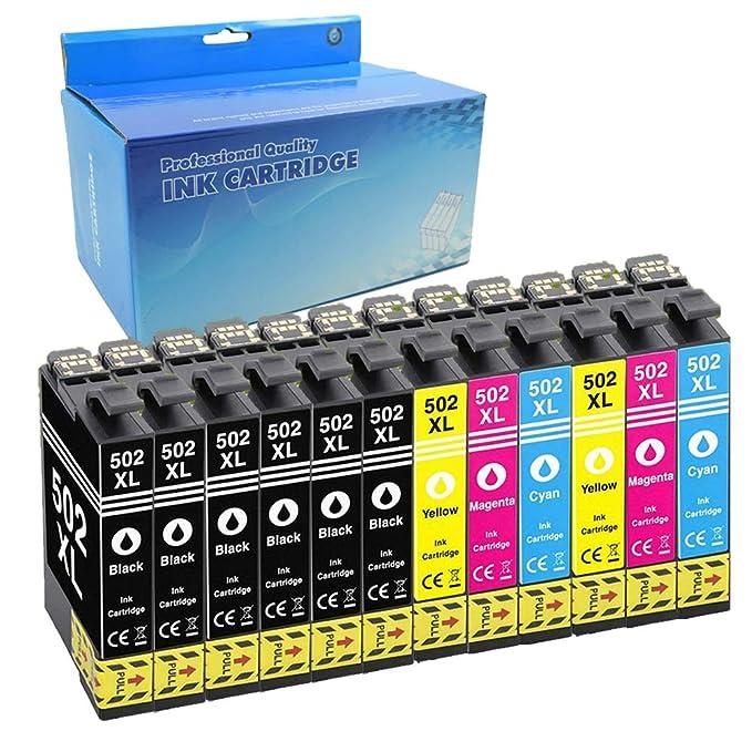 Cartuchos de Tinta de Repuesto para Epson 502 502XL Kompatibel mit ...