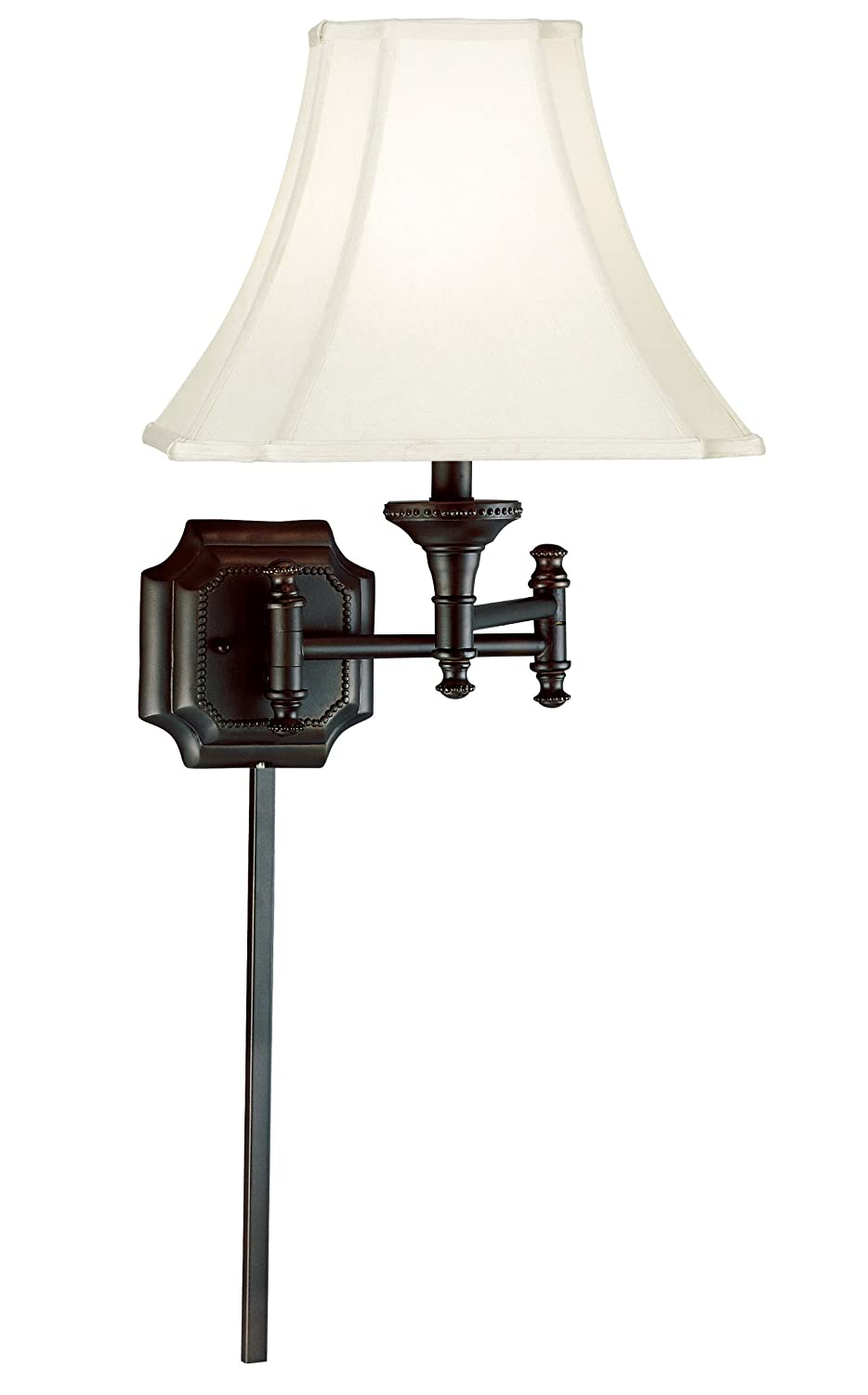 Kenroy Home 33054BBZ Wentworth Wall Swing Arm Lamp, Burnished Bronze - Wall  Sconces - Amazon.com - Kenroy Home 33054BBZ Wentworth Wall Swing Arm Lamp, Burnished