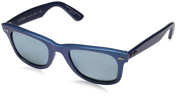 c0fc6a8f375b0 Ray-Ban Wayfarer Sunglasses (Blue) (RB-2140-611330)  Amazon.in ...