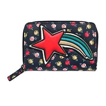 Cath kidston navy special lucky rose pocket purse amazon luggage cath kidston navy special lucky rose pocket purse colourmoves