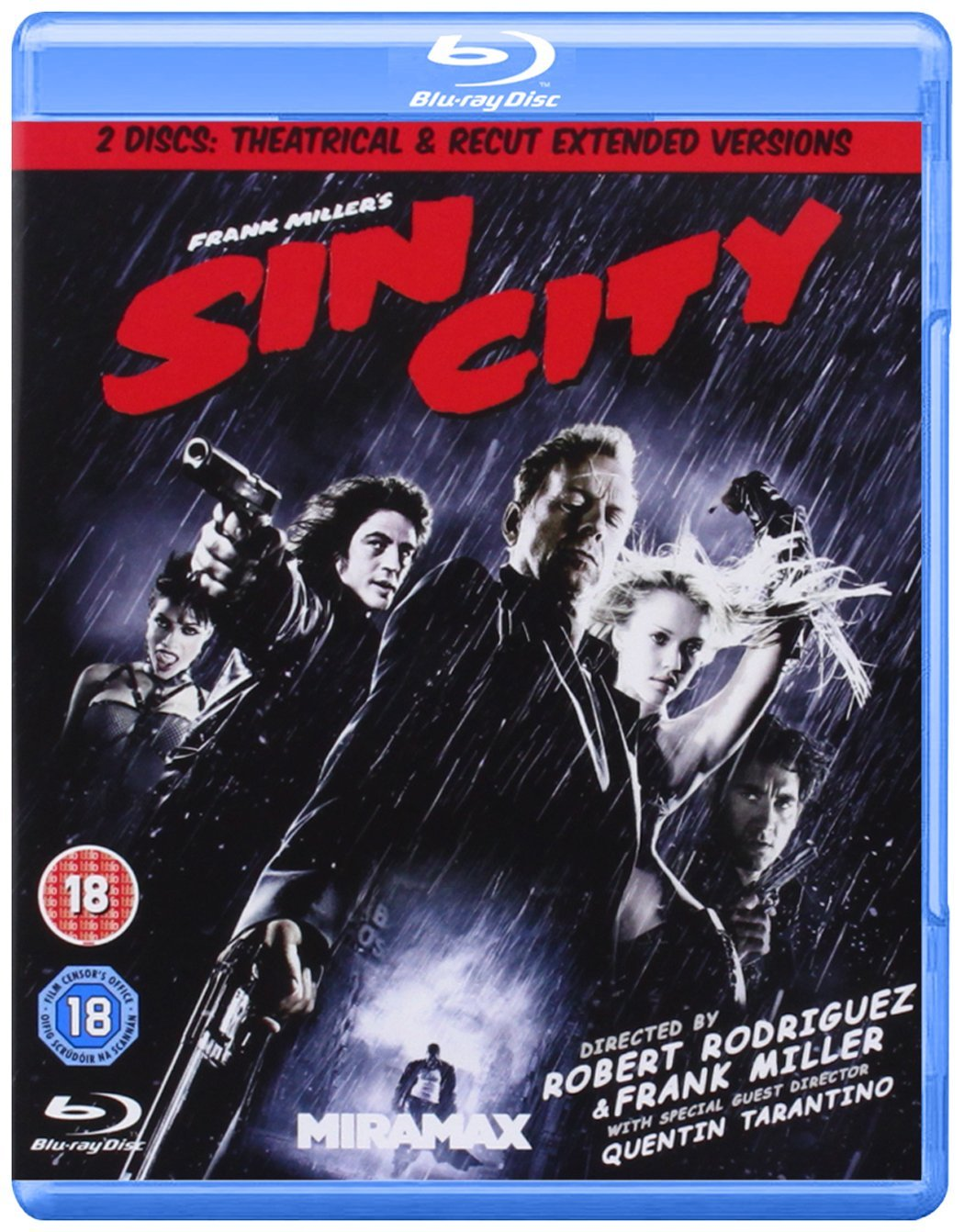 Sin City Edizione: Regno Unito Reino Unido Blu-ray: Amazon.es: Movie, Film [Blu-Ray Disc]: Cine y Series TV