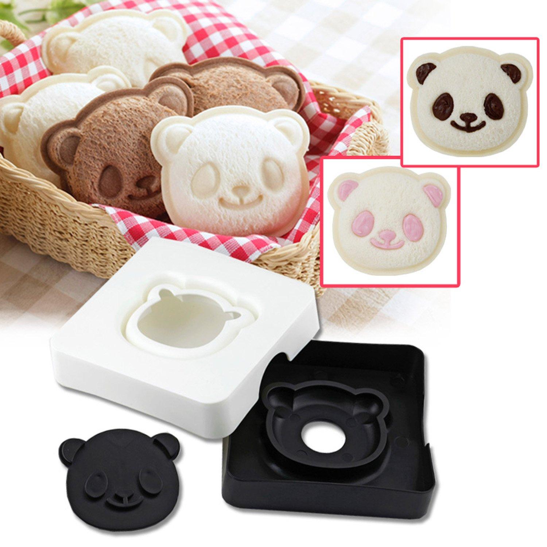 Cute Panda Bear Sandwich Bread...
