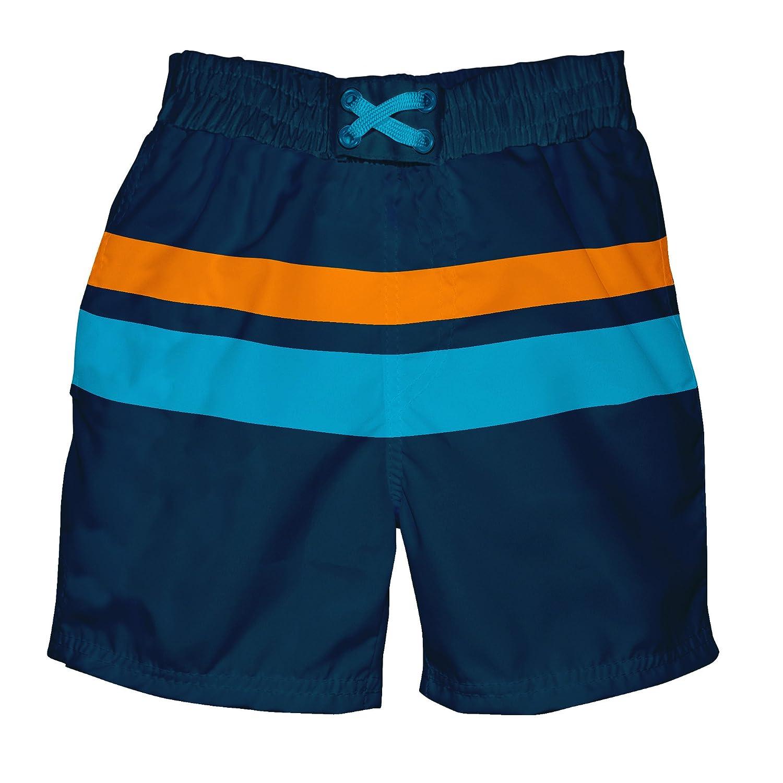I-Play Baby Boys Ultimate Swim Diaper Block Boardshort UPF 50+