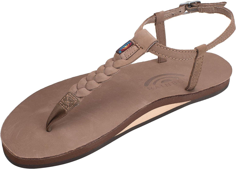 Rainbow Sandals Womens Single Layer Premier Leather T-Street