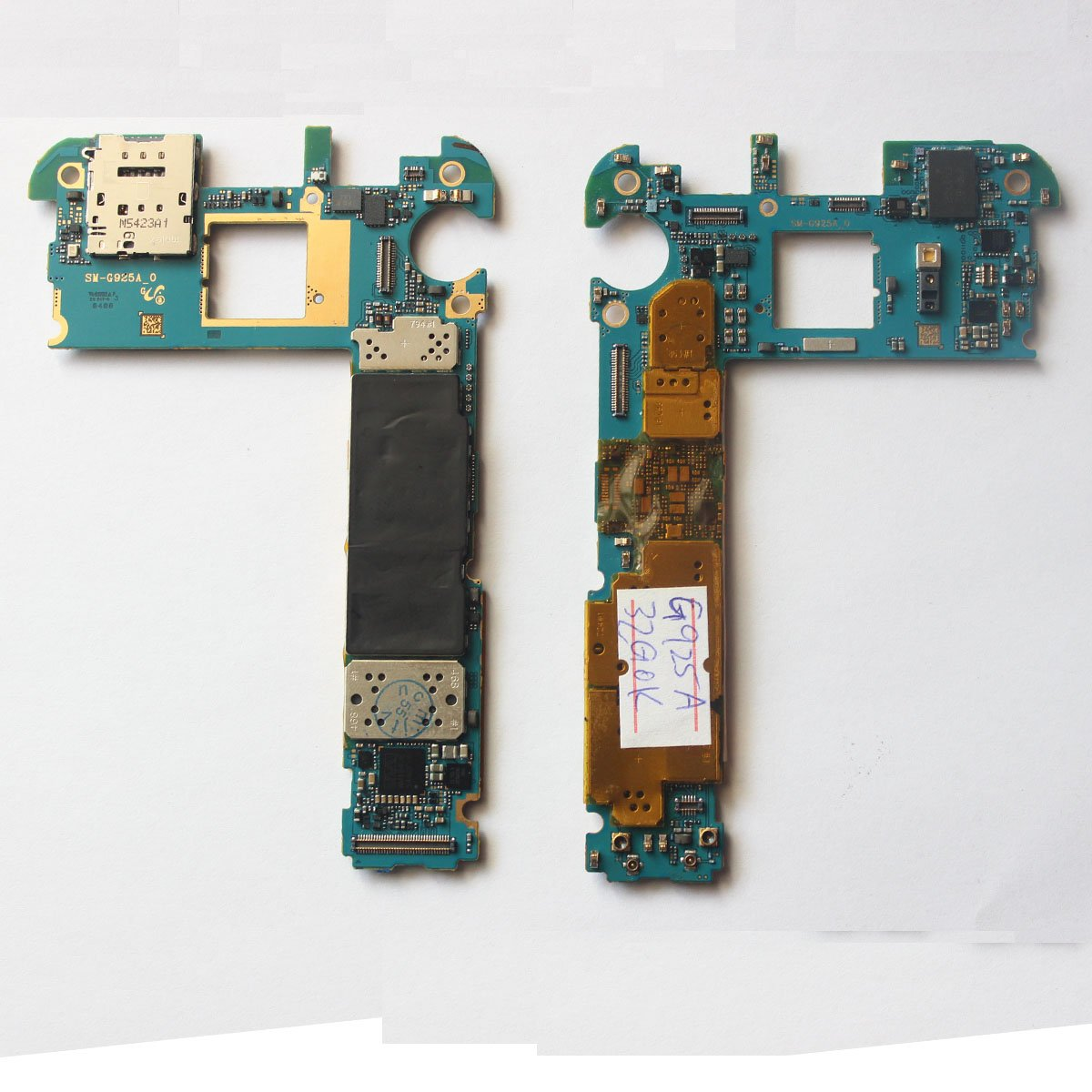 Main Motherboard For Samsung Galaxy S6 Edge G925a 32gb Circuit Board Repair Tools Unlocked Cell Phones Accessories